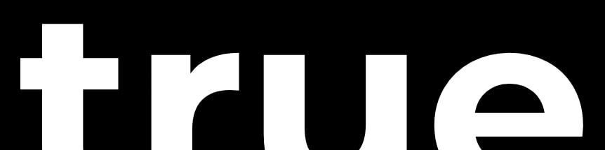 true men skincare logo czarne