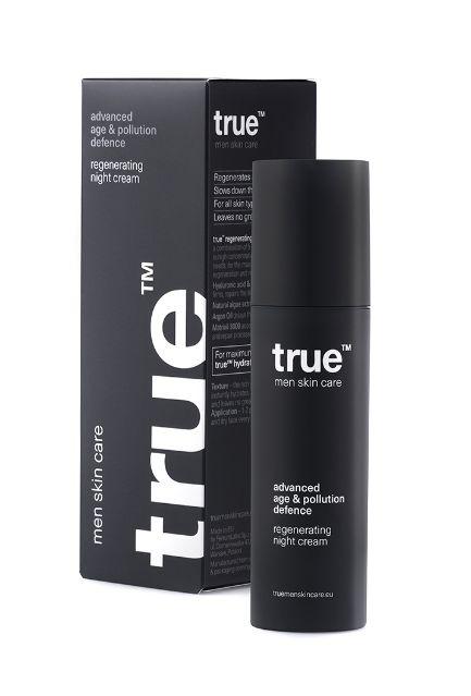 kosmetyki dla mężczyzn na noc true men skincare